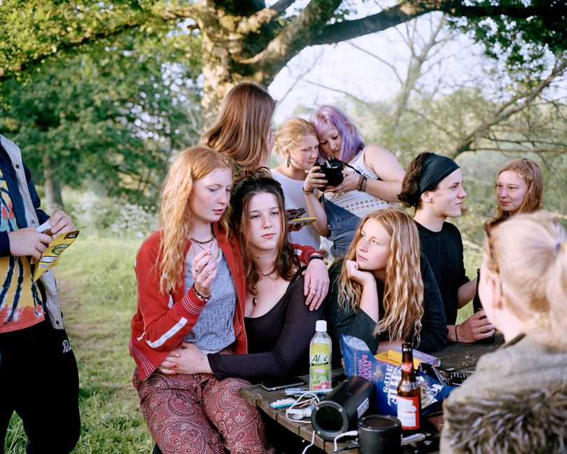 Gathered by the River - Last Light 7pm © Sian Davey. Courtesy of Michael Hoppen Gallery