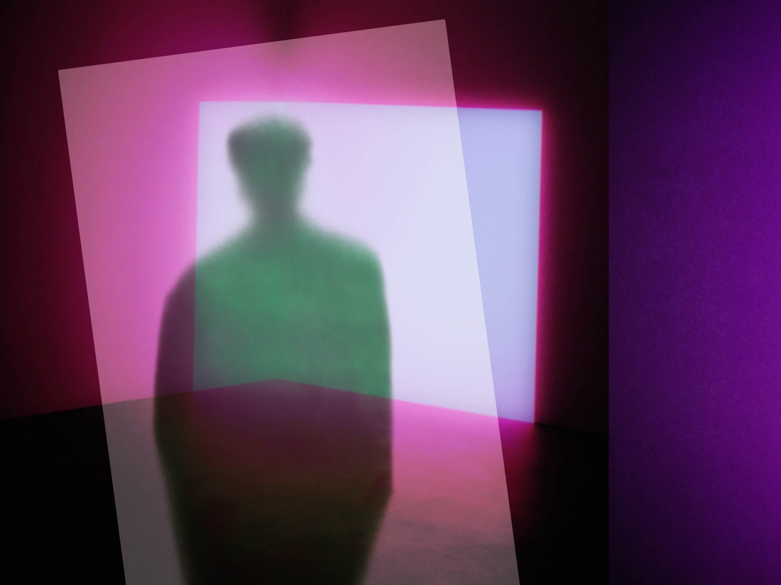Soft Photographs Of Silhouettes Of People That Look Like