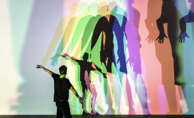 Your uncertain shadow (colour), 2010 Thyssen-Bornemisza Art Contemporary Collection, ViennaPhoto: María del Pilar García Ayensa / Studio Olafur Eliasson © 2010 Olafur Eliasson