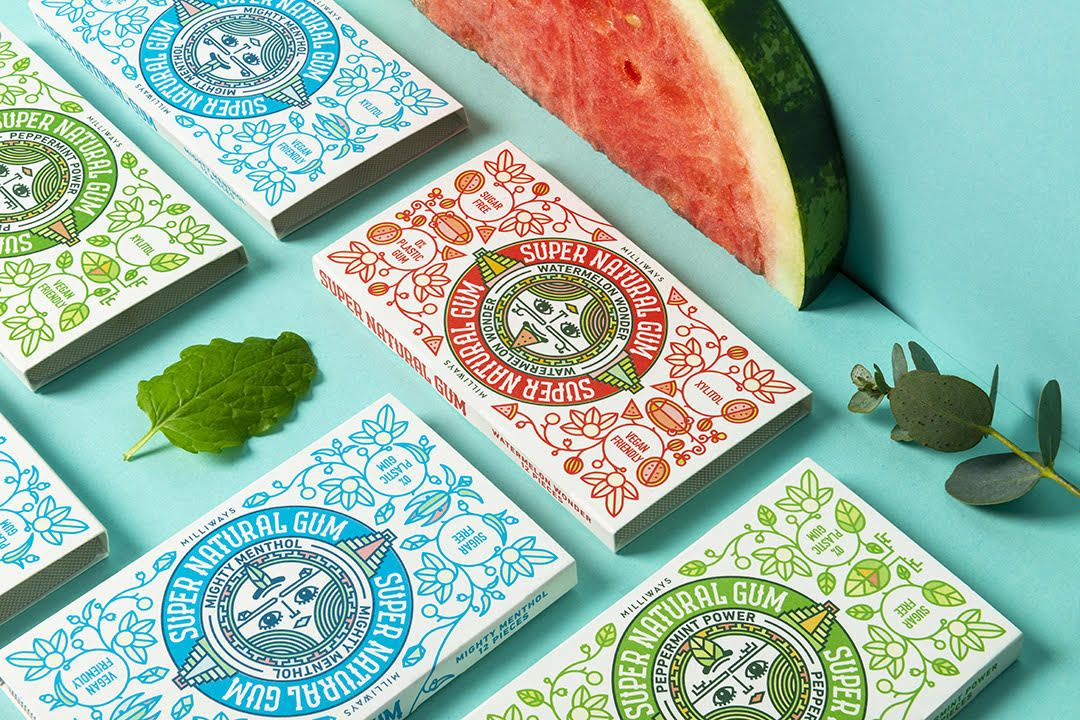 Hawk & Handsaw's 'out of this world' Aztec-inspired identity for a new chewing gum brand