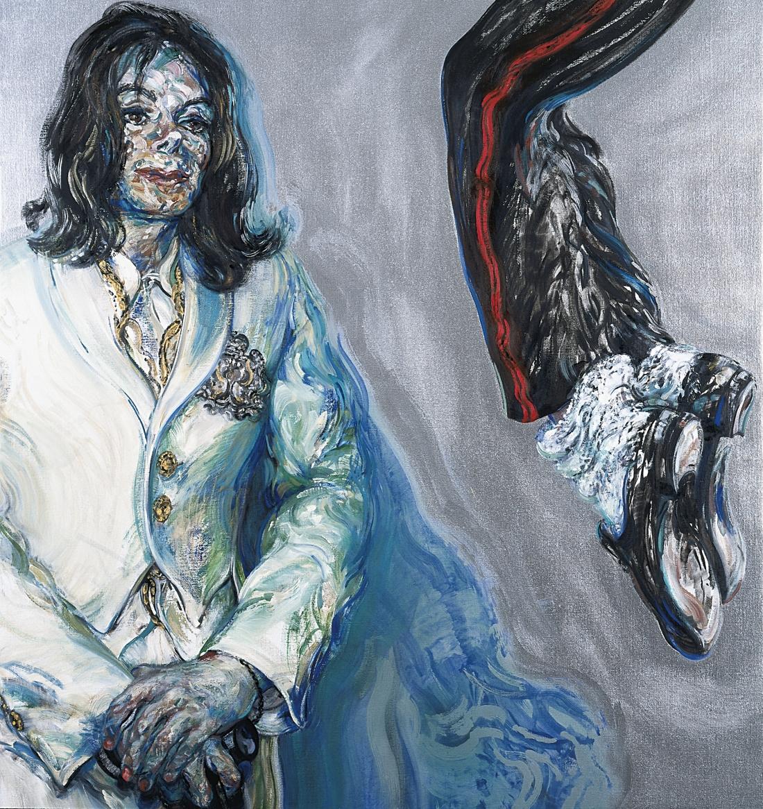 Michael Jackson, 2009. Maggi Hambling