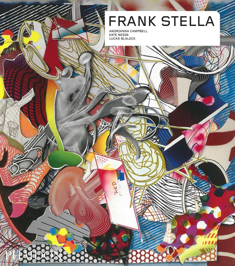 Frank Stella, Organdie, 1997, acrylic on canvas, 396 × 396 cm. Picture credit: artwork © Frank Stella (page 67 and front cover)