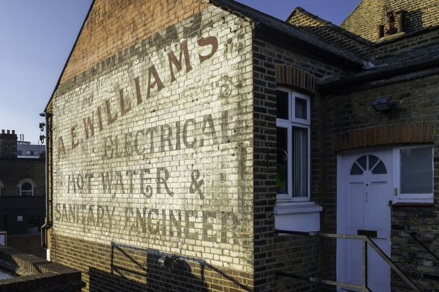 From the series, Ghost Signs © Nicholas Brewer