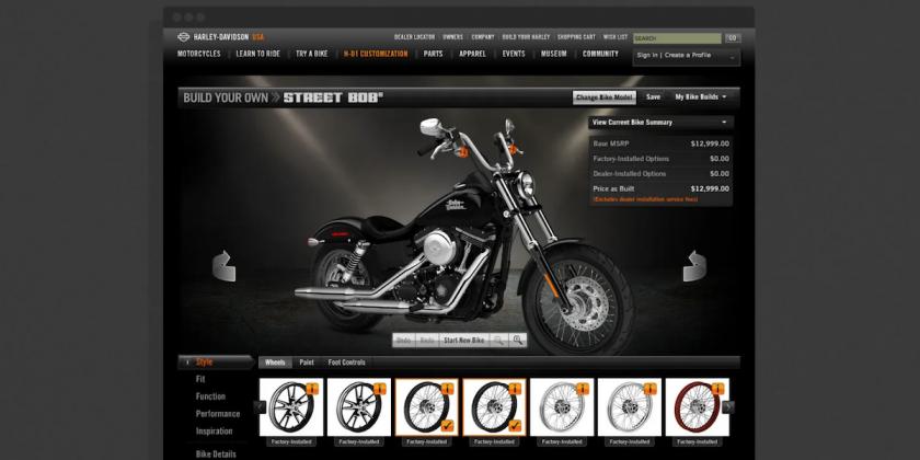 50,000 ft, Harley Davidson