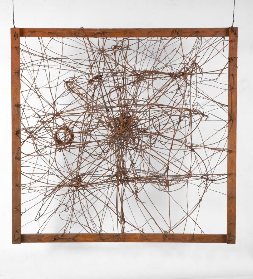 Untitled (The Web, and Wall Sculpture) 1950, The Richard Pousette-Dart Estate.