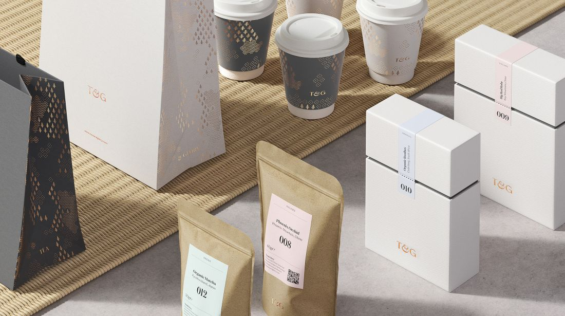 Tea & Glory, diseñado por [Socio Design] (http://sociodesign.co.uk/)