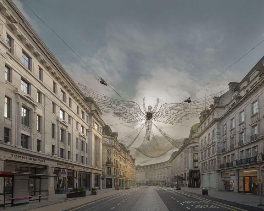 Deserted London © Chris Dorley-Brown
