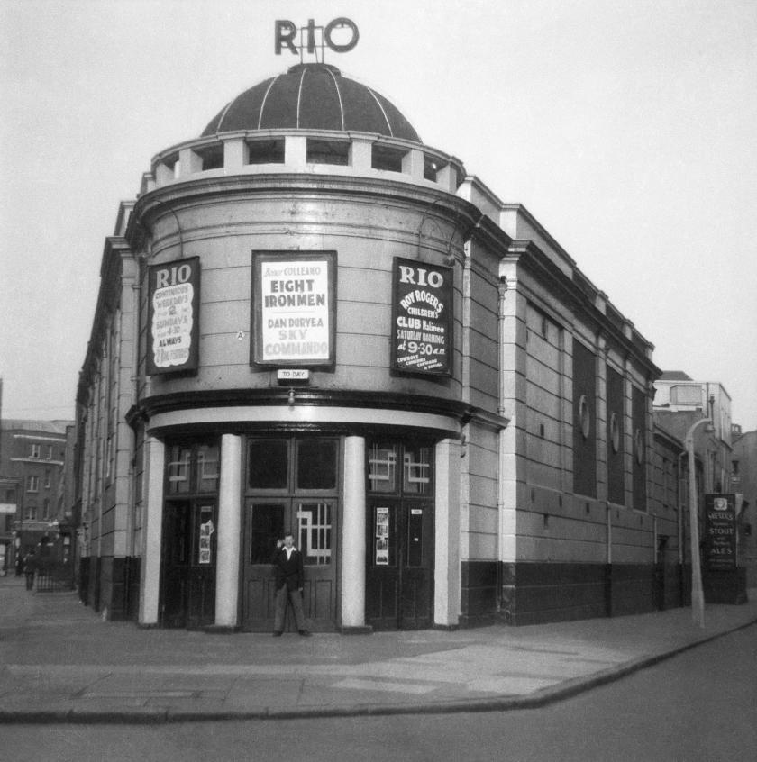 Former Rio Cinema, now demolished. Skinner St, Clerkenwell - 1952