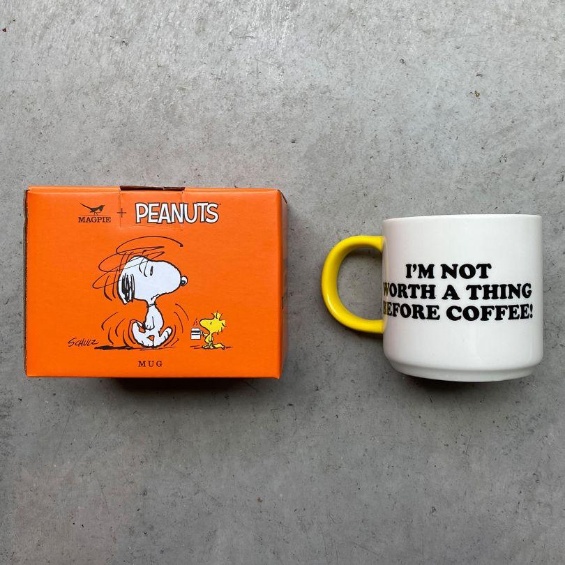 Snoopy mug, via Hen's Teeth