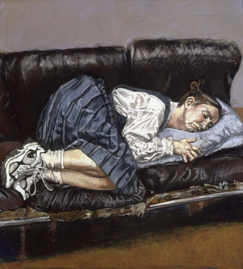 Paula REGO (b. 1935) Untitled No. 4, 1998 Pastel on paper, 110 x 100 cm Collection: Private Collection © Paula Rego, courtesy of Marlborough, New York and London