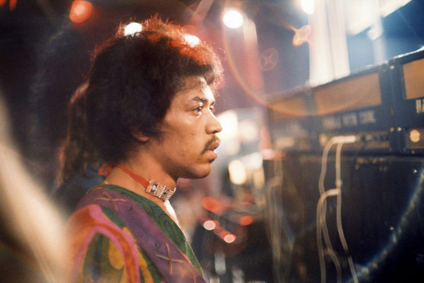 Charles Everest, Jimi (Pensive), Isle of Wight 1970, © Charles Everest | CameronLife Photo Library