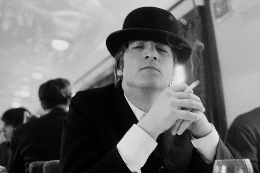 Astrid Kirchherr, John in Bowler hat, 1964