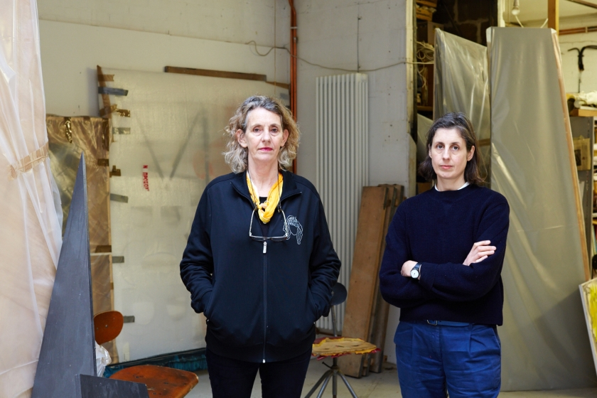 Charlotte Cullinan and Jeanine Richards - artists