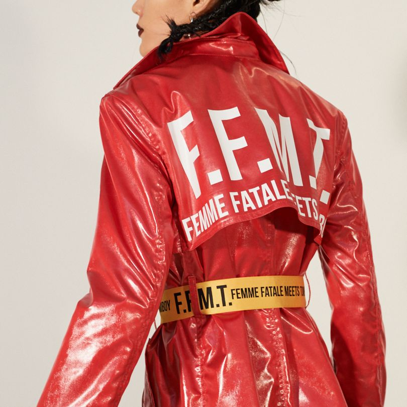 Femme Fatale Meets Tomboy Ready-to-Wear Collection For Women by Carolina Chae Yoon Yoo-Chaenewyork. Winner in the Fashion, Apparel and Garment Design Category, 2018-2019.
