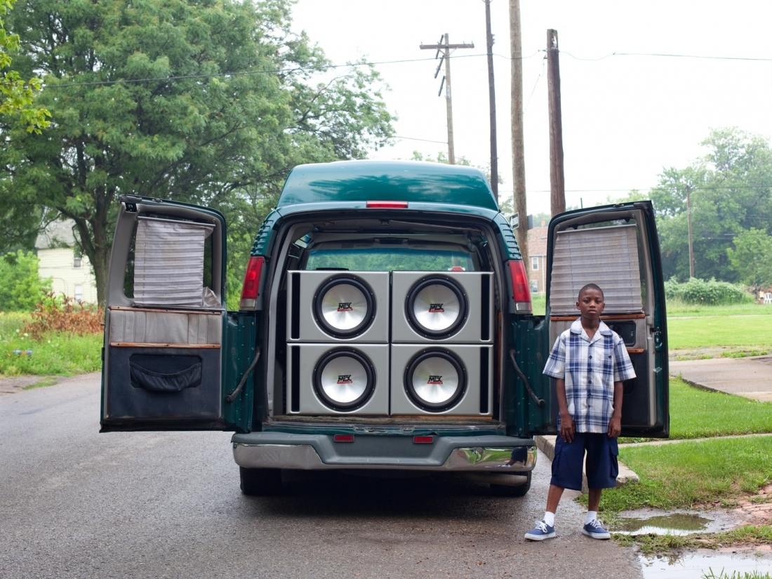 Ray Shawn and his uncle's van, 2011. Courtesy of Corine Vermeulen