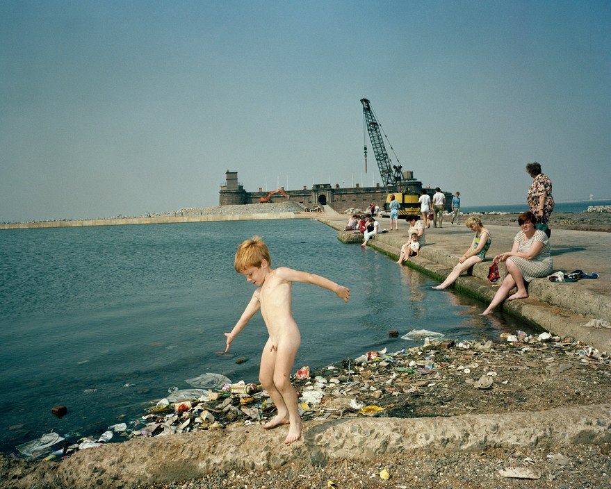 Martin Parr New Brighton, Merseyside from 'The Last Resort' 1985. Courtesy the artist