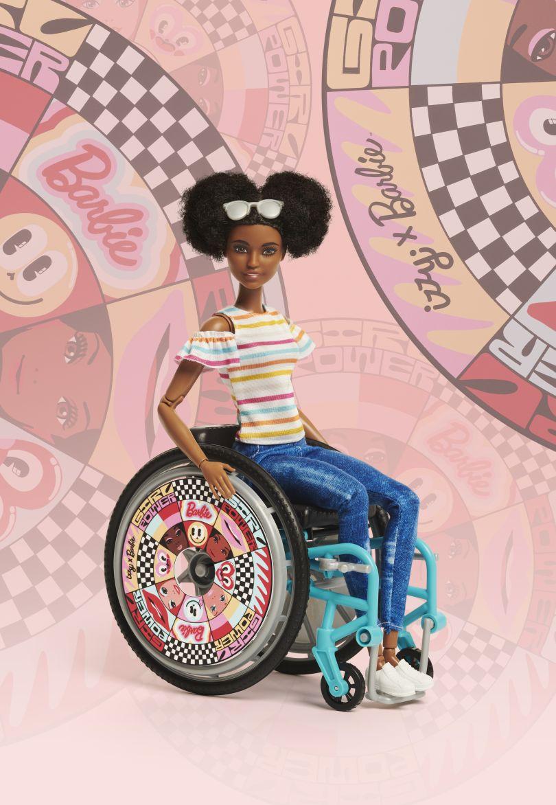 Barbie x Izzy Wheels by Hattie Stewart design