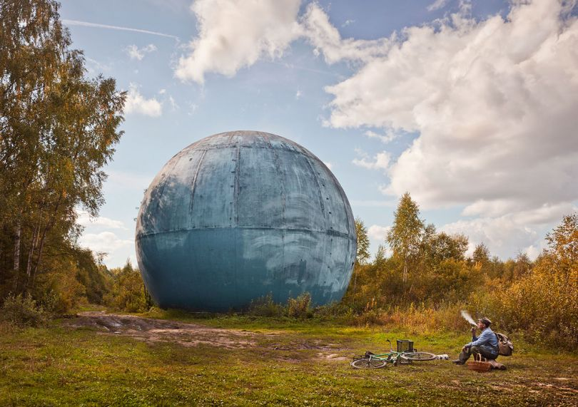 Ball in Forest, 2016 © Frank Herfort
