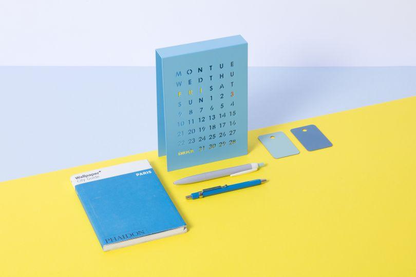 Perpetual Calendar by Block Design