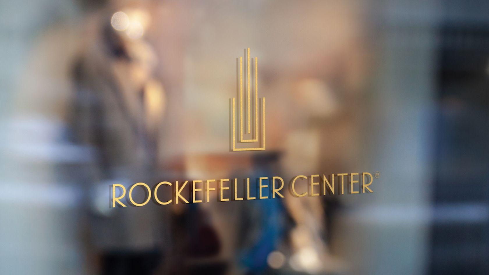 The iconic Rockefeller Center building in New York just got new branding