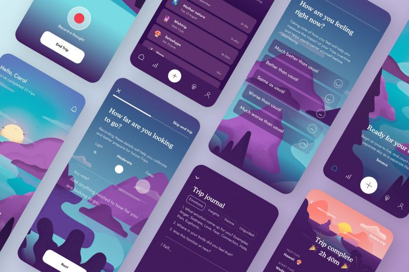 Mobile Design of the Year: Trip App by Z1/Field Trip