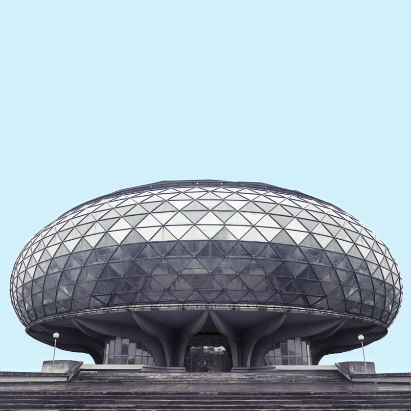 Minimal Belgrade: Futuristic photography series captures Belgrade's 20th-century architecture