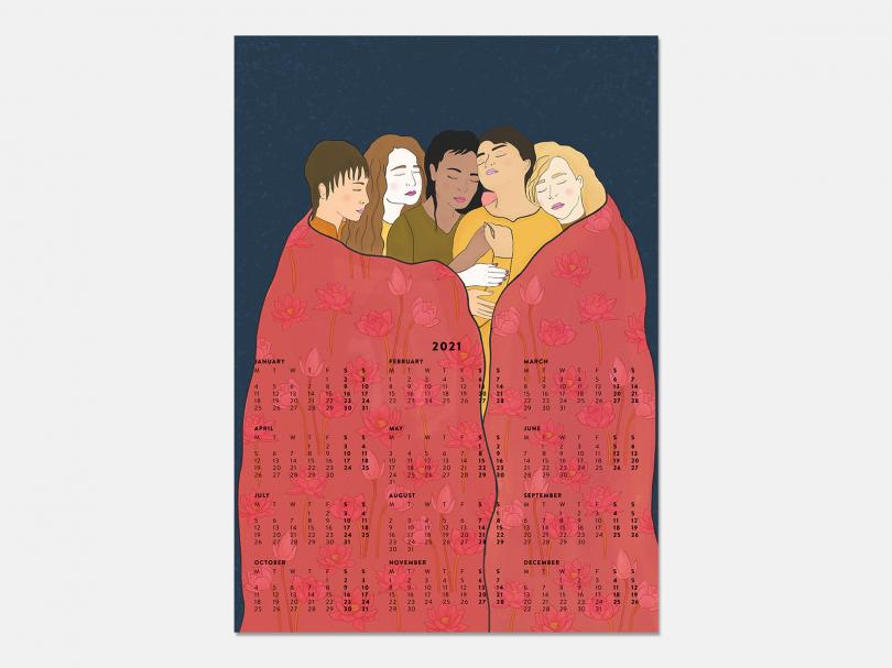 Sisterhood Calendar by Roshi Rouzbehani