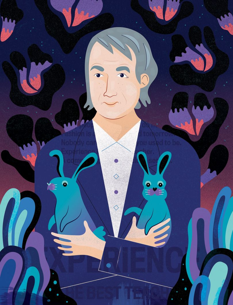 Sir Paul Smith for Caleopaper magazine
