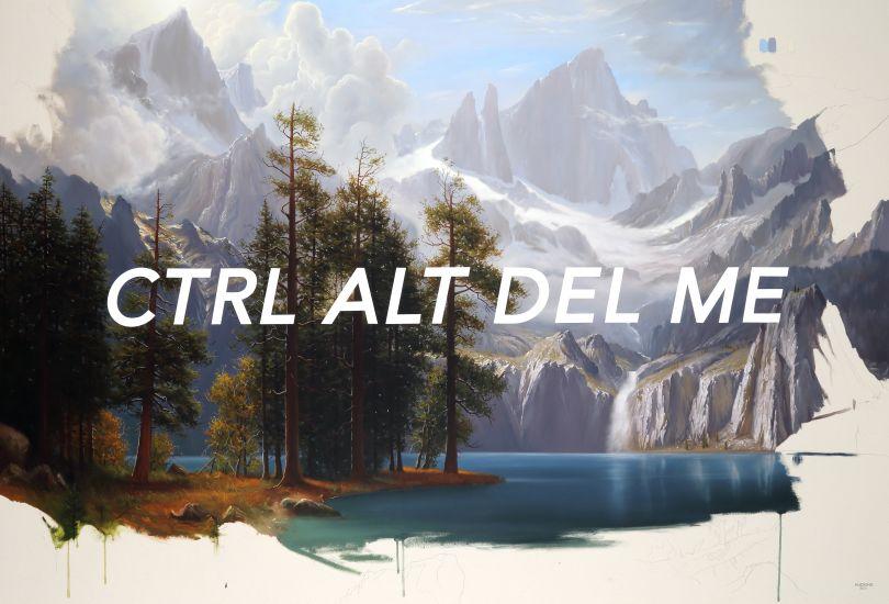 Sierra Nevada: Control Alt Delete Me, 2021 © Shawn Huckins