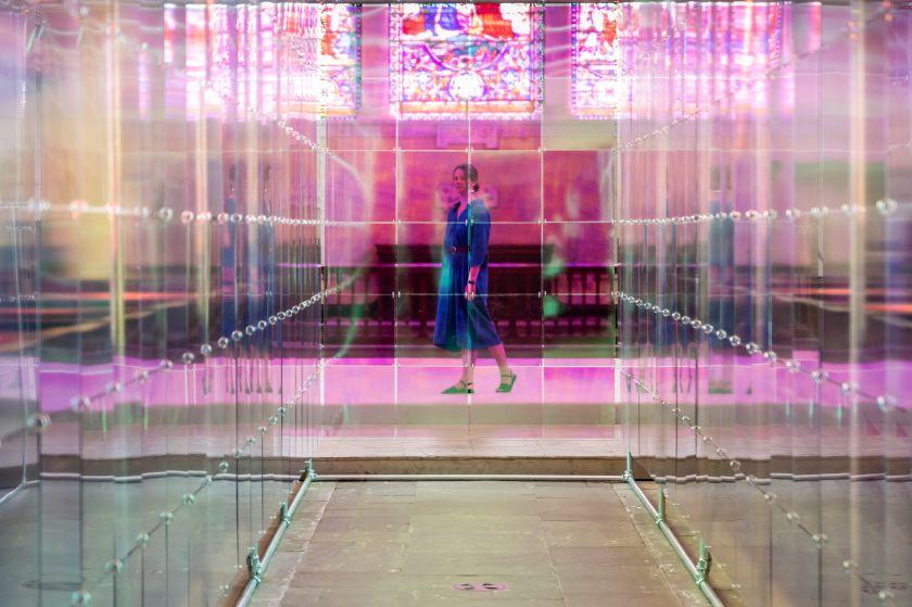 Liz West, Presence – Macclesfield, Christ Church – Barnaby Festival 2021. Photography by Travelling Simon