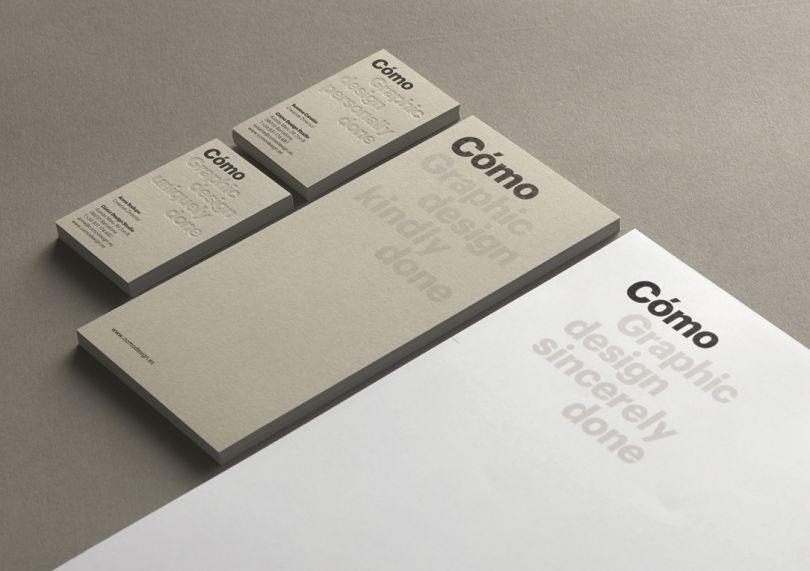 Brand identity for [Como](http://www.comodesign.es/)