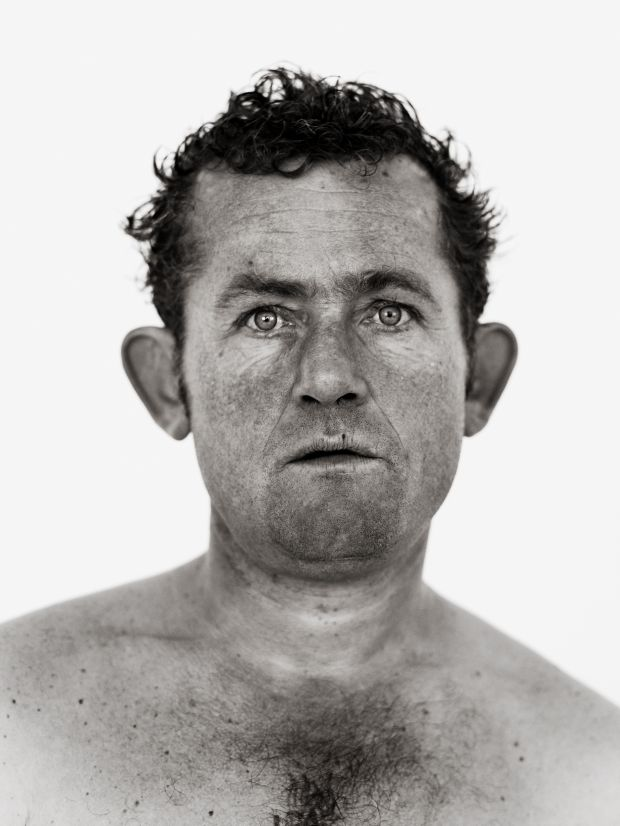 Peter Le Page, London, 2011 (from the series Homeless) © Bryan Adams, images courtesy Atlas Gallery