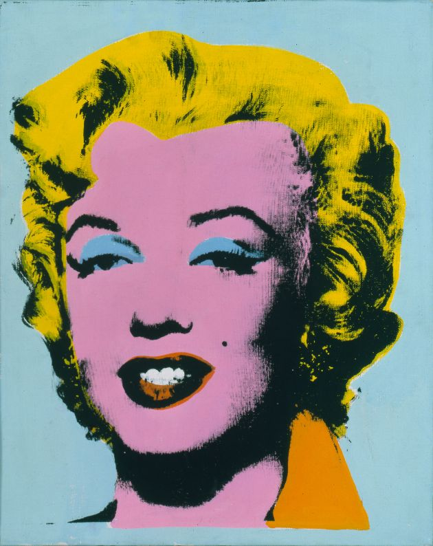 Andy Warhol, Mint Marilyn (Turquoise Marilyn) 1962. © 2019 The Andy Warhol Foundation for the Visual Arts, Inc. / Licensed by Artists Rights Society (ARS), New York. Photo: Dorothy Zeidman