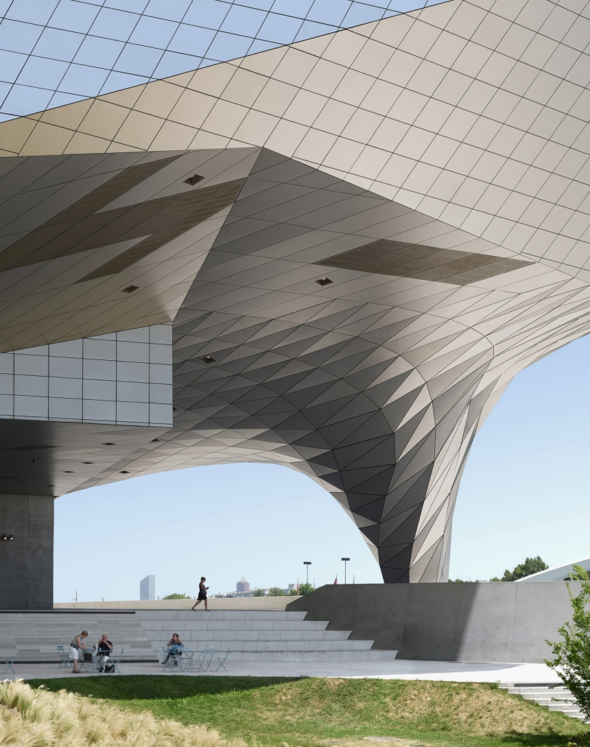 Photographer: Fabrice Fouillet Musee de Confluences, Lyon, France  Architect: Coop Himmelb(l)au