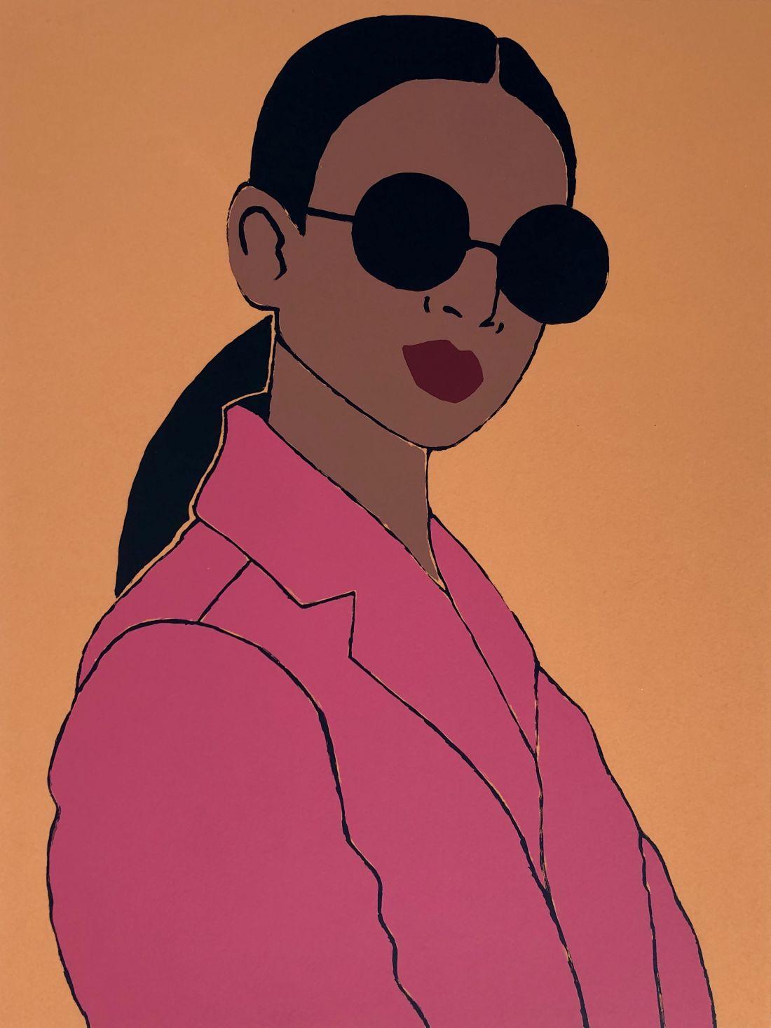 Pink Blazer © Susie Stone