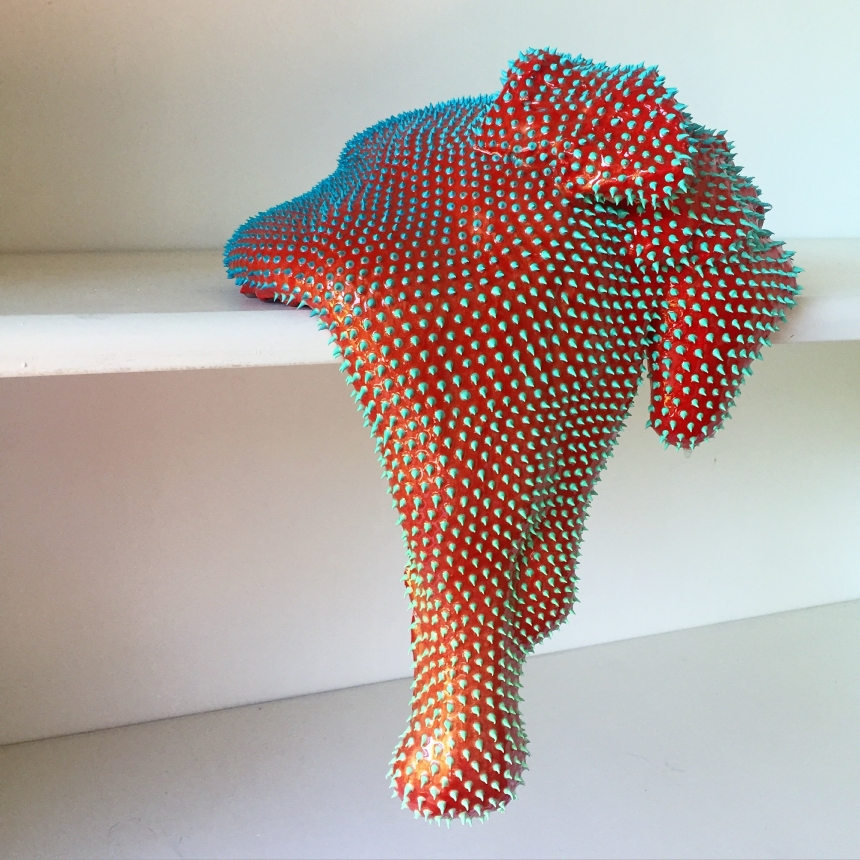 Oozing, droopy sculptures that are strangely beautiful by Dan Lam ...