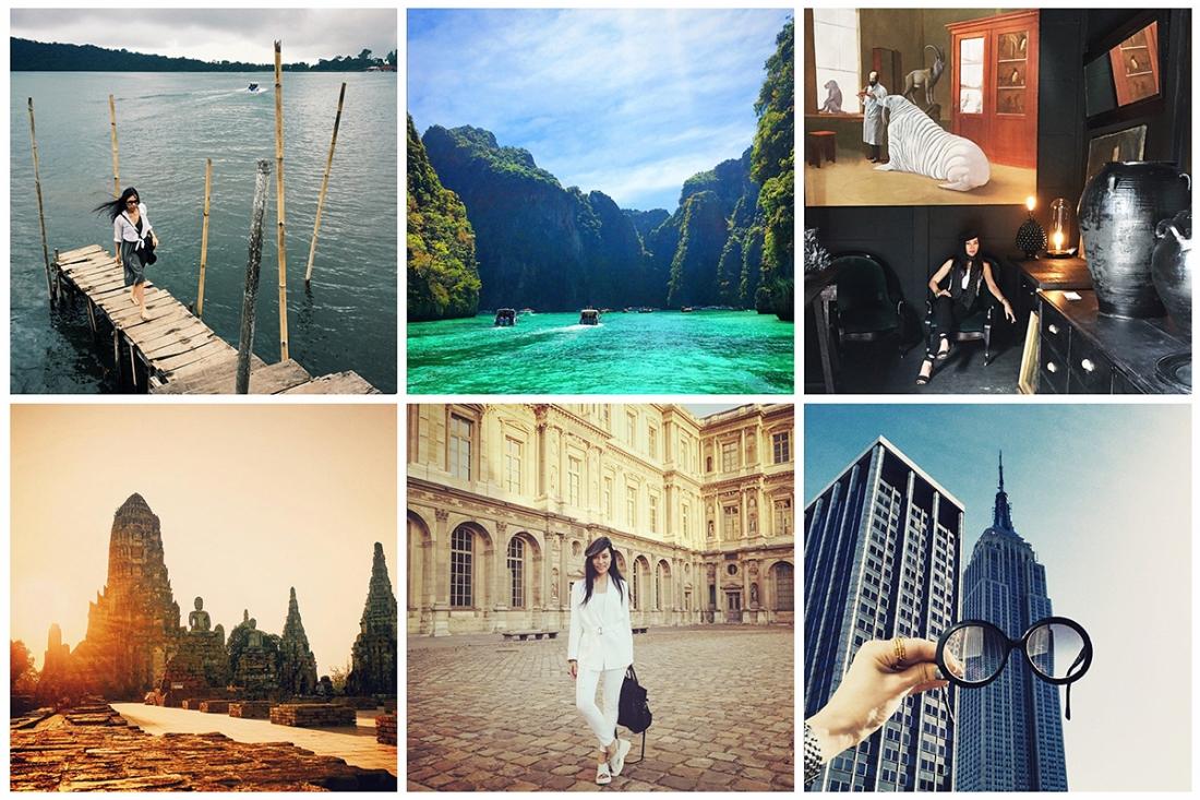 Pum's Instagram travel photos (Travel is her greatest inspiration)