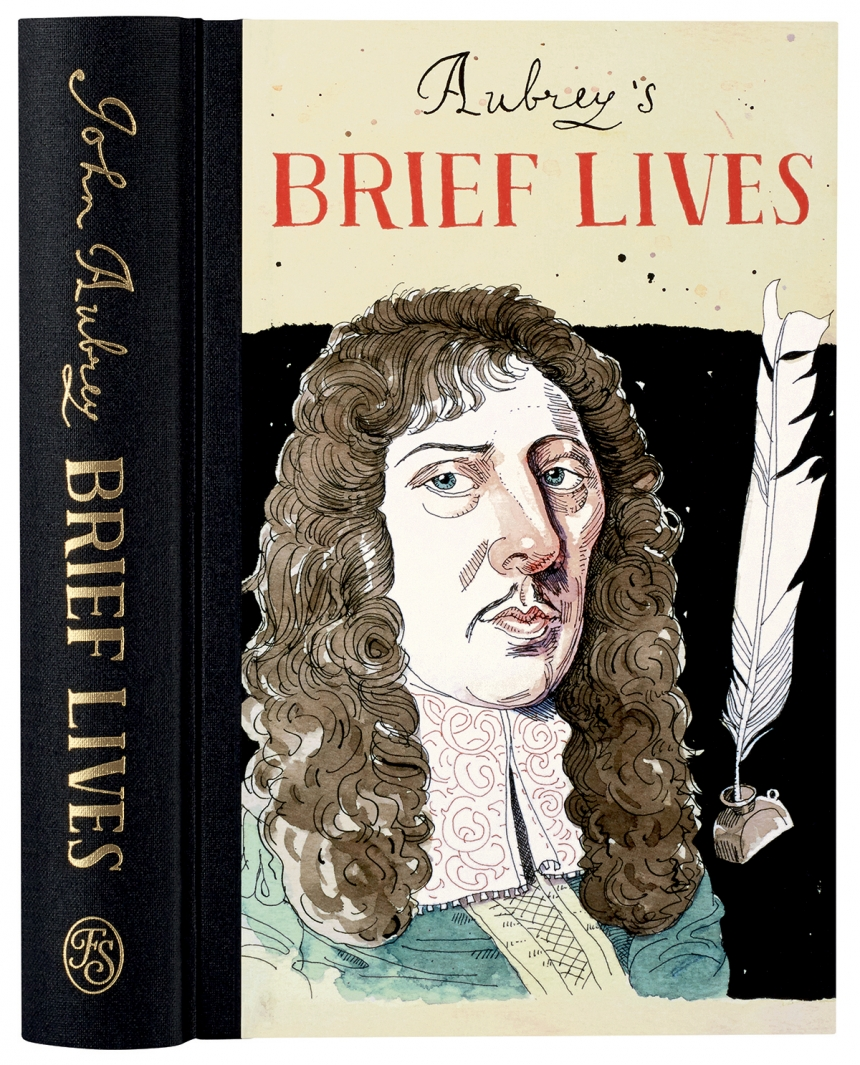 Aubrey's Brief Lives – book cover design by Joe Cardiello | Credit: © Joe Cardiello