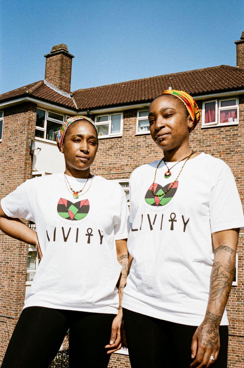 Sisters Kaleema and Kareema Shakur-Muhammad who run Livity Plant Based Cuisine in Croydon © Jonas Martinez / Museum of London