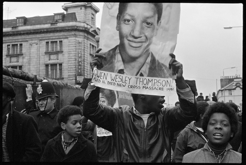 Vron Ware, Black People's Day of Action, 2 March 1981. Courtesy the artist / Autograph ABP