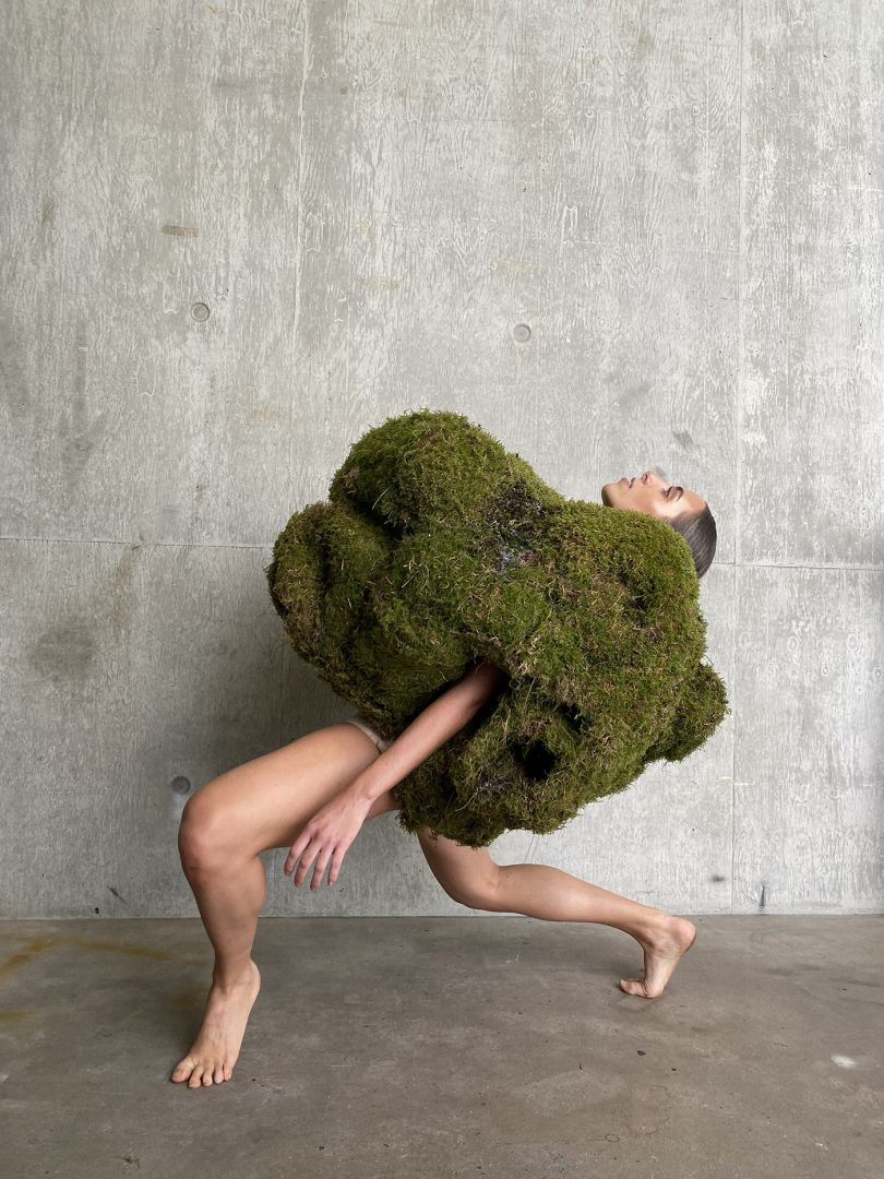 'FEN (Growing Garments)' by Lydia Hardcastle, BA Performance: Design and Practice