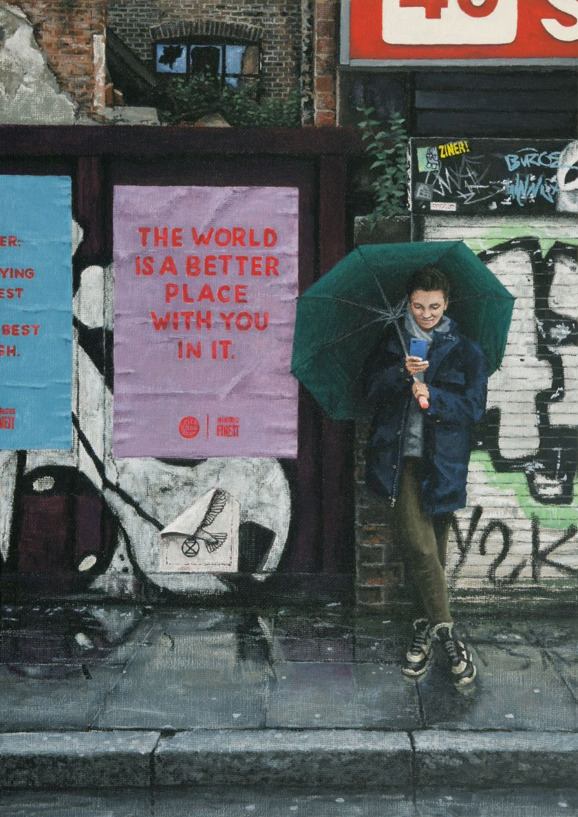 The World is a Better Place With Your In It, 2021 © Peter Davis