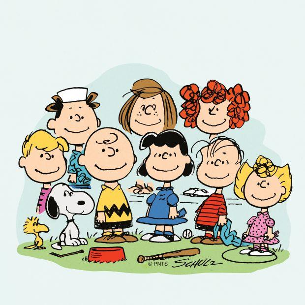 The cast of Peanuts © Peanuts