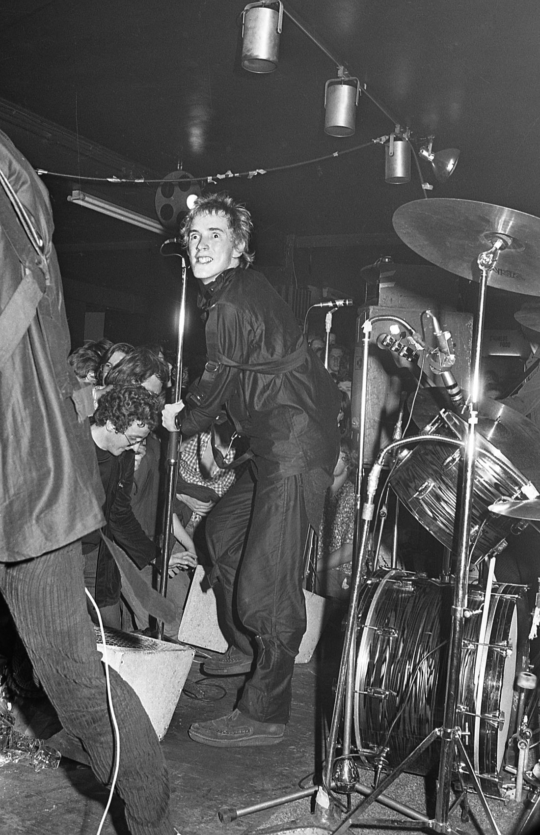 John Lydon at the 1976 Punk Special by Barry Plummer