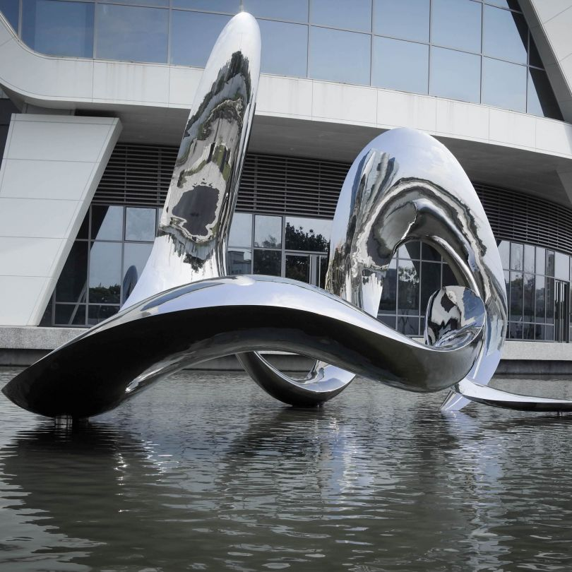 Flow With The Sprit of Water: Public Art by Iutian Tsai. Winner in the Arts, Crafts and Ready-Made Design Category, 2019-2020