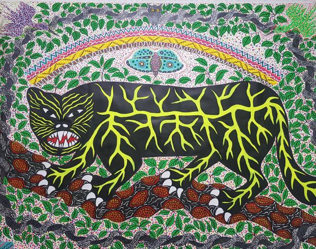 Roldan Pinedo, El Puma y el Arco Irís