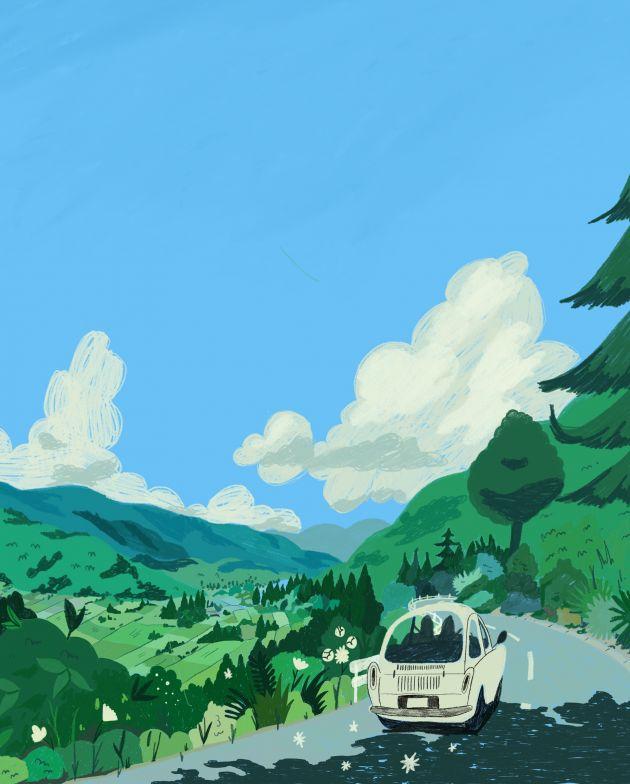 Ghibli Redraw Poppy Hill © Alexandra Francis