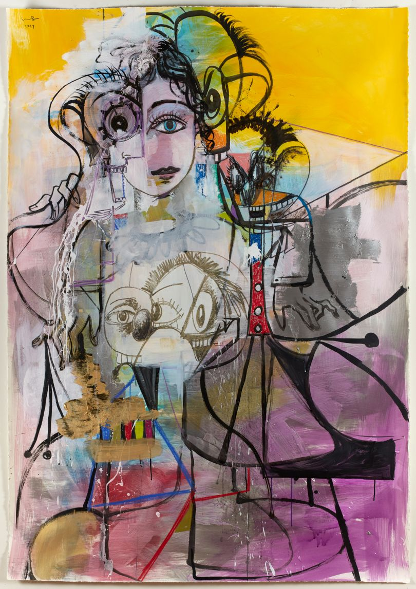 © George Condo Multiple Figure Composition 2019. Courtesy of the artist and Skarstedt, New York