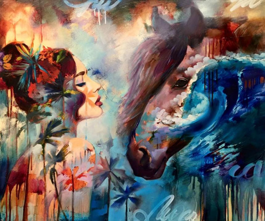 Dreamlike Art: Teen artist brings her dreams to life ... - photo#5