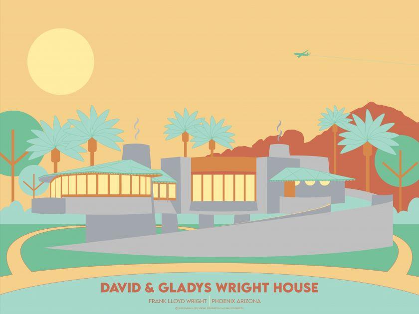 David & Gladys Wright House © Aaron Stouffer